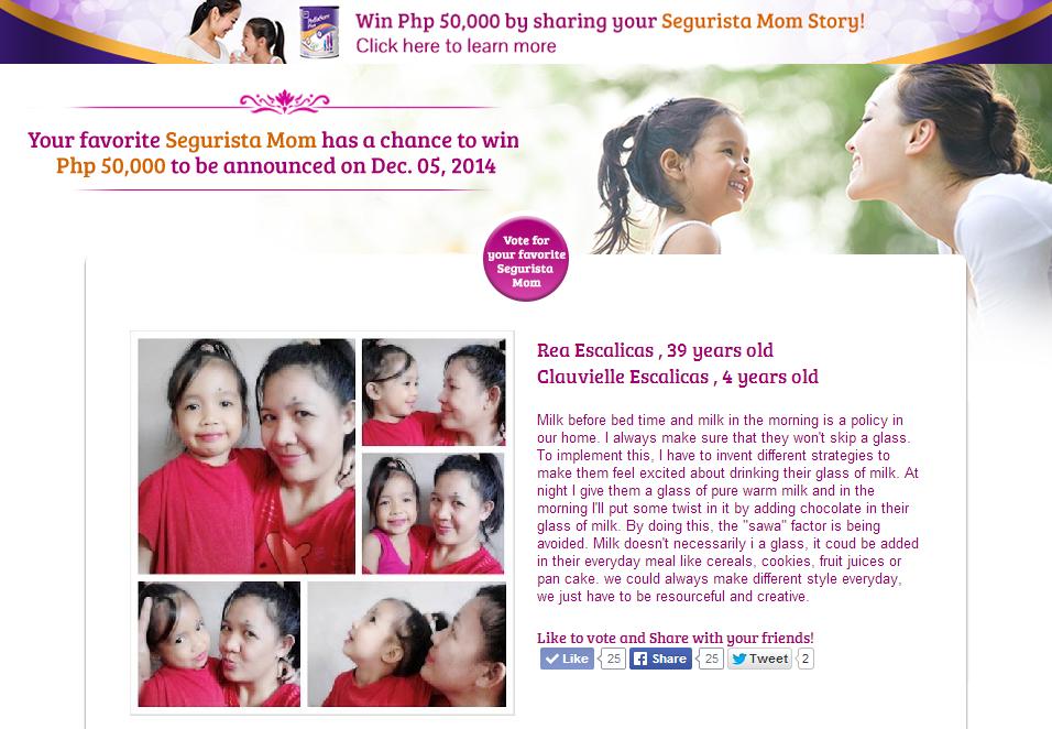 "<img src=""pediasure.gif"" alt=""Join ""be a segurista mom"" contest and win 50,000 pesos "" />"