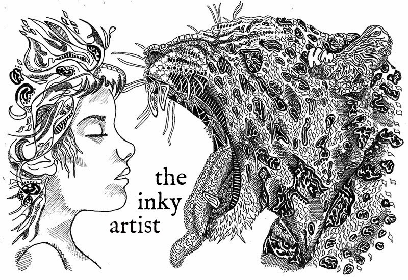 the inky artist