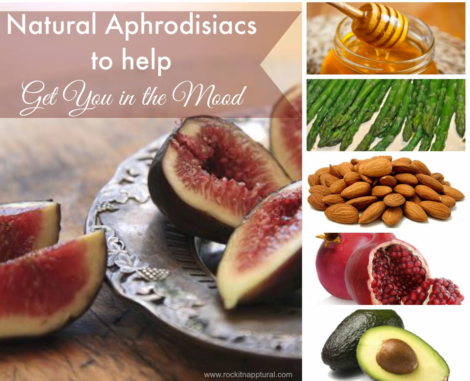 Natural aphrodisiacs, natural mood enhancers