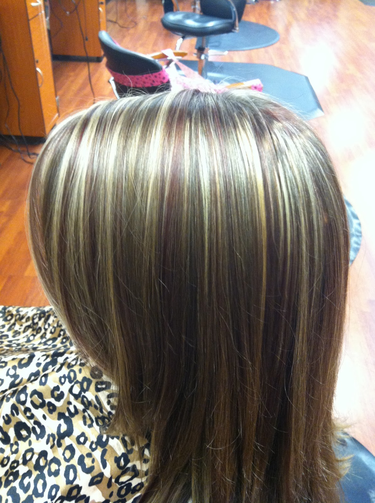 Brown Hair With Blonde Highlights And Lowlights