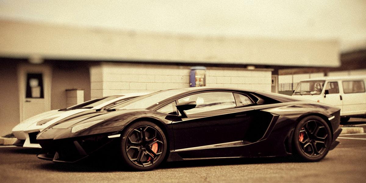 Lamborghini Sepia l 300+ Muhteşem HD Twitter Kapak Fotoğrafları