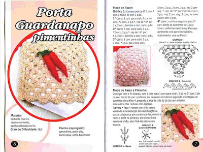 Porta guardanapos em crochet endurecido