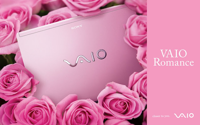 Sony Pink notebook