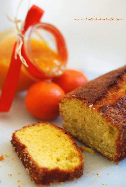 plumcake alle clementine con marmellata home made