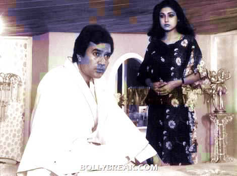 Rajesh Khanna and Tina Munim in film Sautan directed by Sawan Kumar - (13) - Remembering Rajesh Khanna - First Bollywood Superstar
