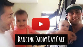 Watch babies have fun with dancing daddy's day care via geniushowto.blogspot.com funny baby videos with dancing dads