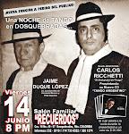 """CICLO DE PRESENTACIONES EN EL SALON FAMILIAR """"RECUERDOS"""" DE DOSQUEBRADAS"""