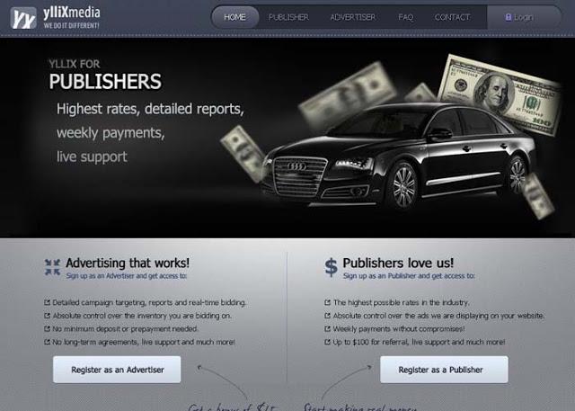 Yllix Media - Google Adsense Alternative