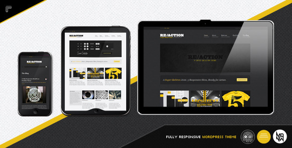 Image for Reaction WP – Responsive Theme by ThemeForest