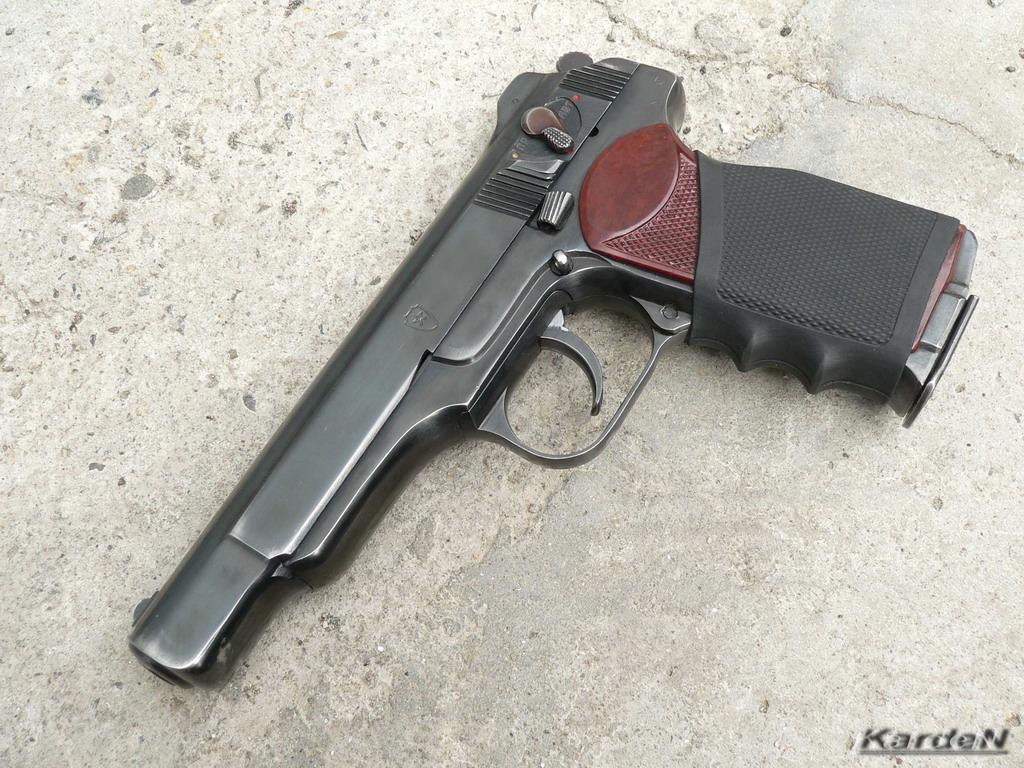 Fire Gun Wallpaper APS Stechkin