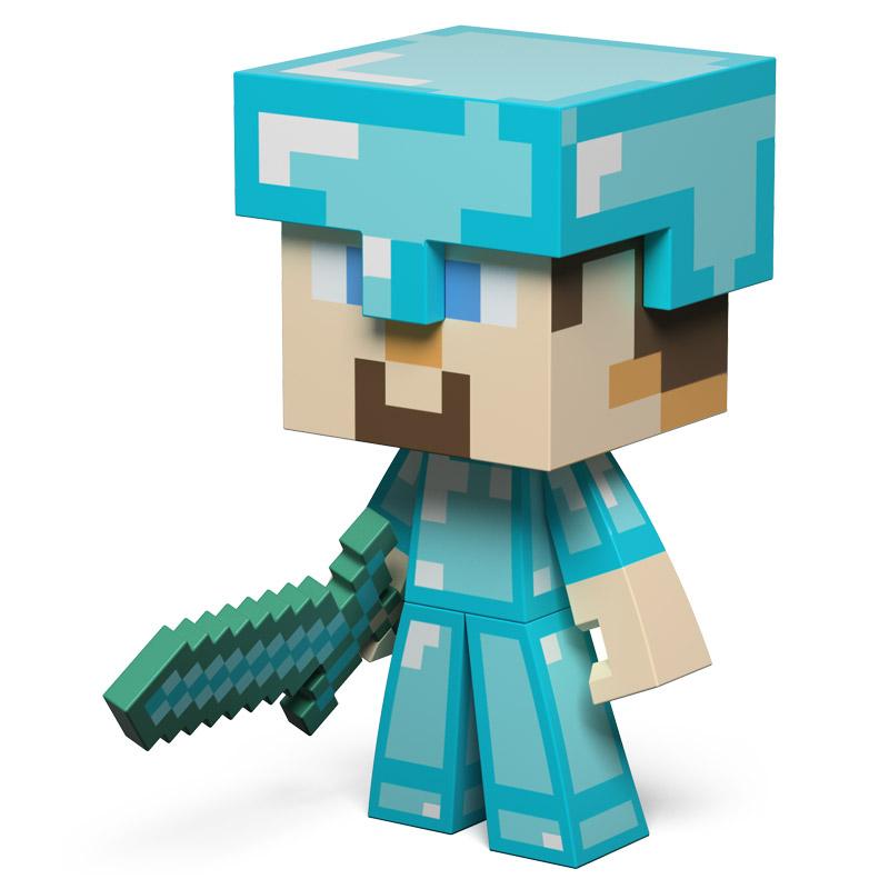 Minecraft steve de diamante o minero pre ventas