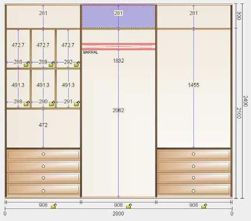 Muebles y carpinteria capita tambien dise amos tu armario - Cuanto cuesta un armario a medida ...