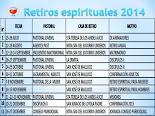RETIROS PARROQUIALES 2014