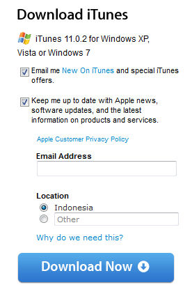 Download iTunes 11.0.2 for Windows