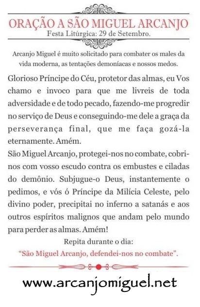 Excepcional Testemunhos de São Miguel Arcanjo | GRAÇAS ALCAÇADAS LD77