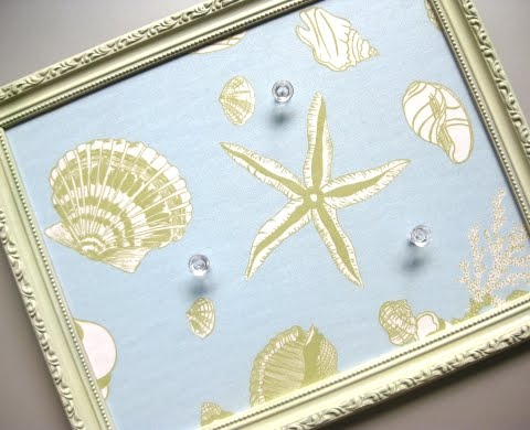 coastal diy memo board