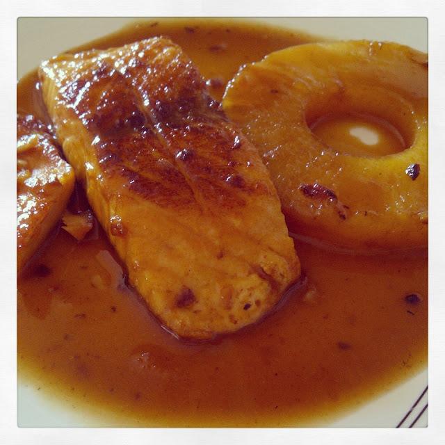 Salm n a la pi a la dieta alea recetas saludables y blog de nutrici n y diet tica - Formas de cocinar salmon ...