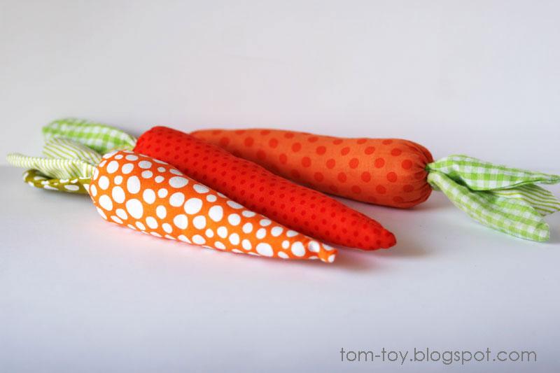 Decorative carrots