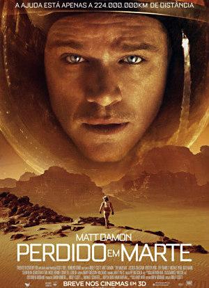 Filme Poster Perdido em Marte HDRip XviD Dual Audio & RMVB Dublado