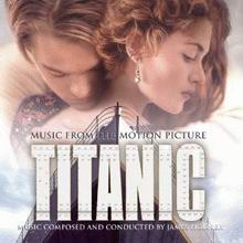 Cover of Titanic Soundtrack Album