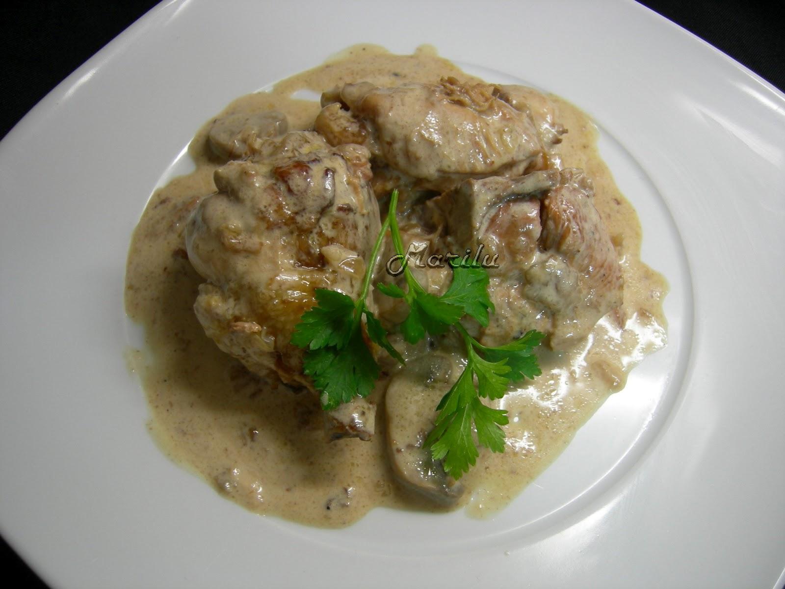 Pollo al jerez receta cocinero online for Maneras de cocinar pollo
