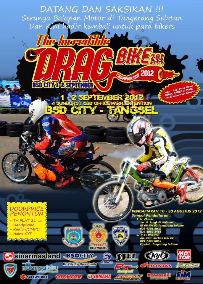 Indonesia Drag - Tanggerang Selatan adalah tempat yang pertama kali  title=