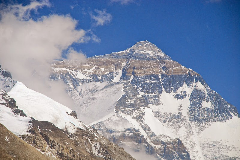 Mount Everest Height is The Height of Mount Everest