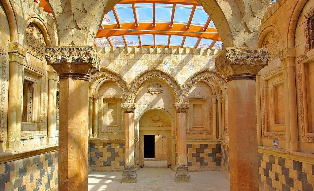 İshak Paşa Sarayı İç Kısmı