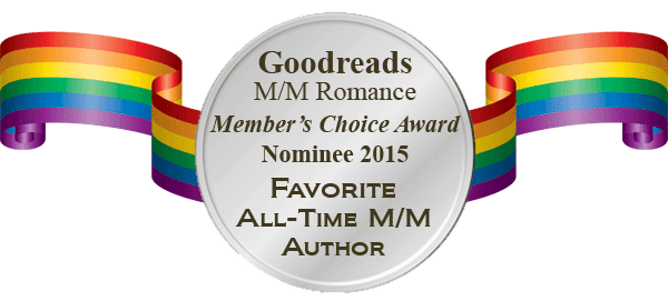 Cody is nominated for Favorite All-Time M/M Author in the Goodreads Members Choice Awards