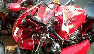 Andre Mamuaya dan Motor Ducati Maut