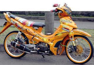 50+ Modifikasi Motor Yamaha Jupiter Z Terkeren