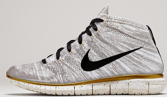 quality design 953dd 18a2e Nike Flyknit Chukka Purple And Gold World Cup   British Board of ...