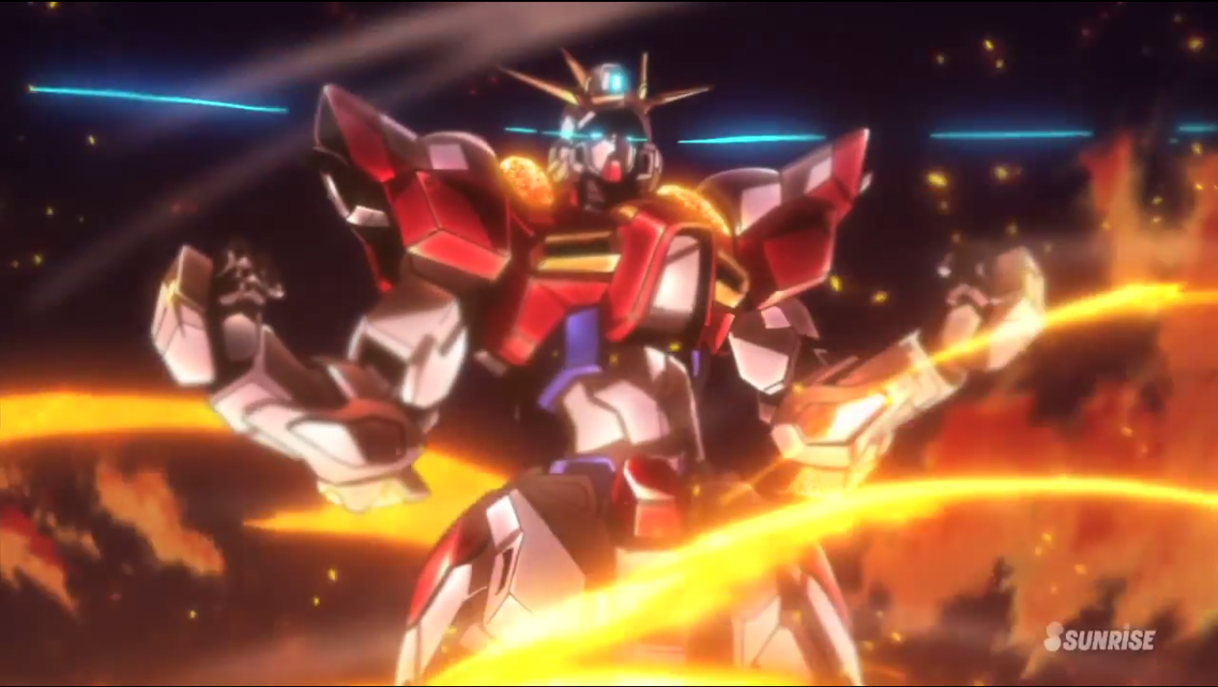 Cross up let s discuss gundam build fighters try for Domon gundam build fighters