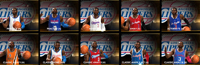 NBA 2K13 LA Clippers Jersey Uniforms Patch