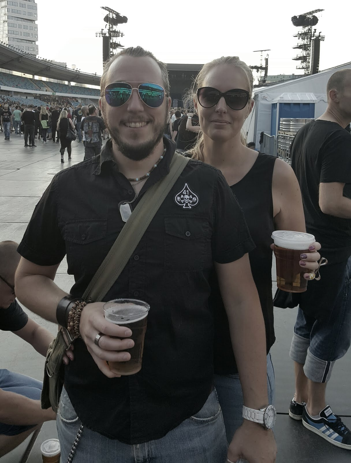 Joel och jag. Metallica i Gbg 2015