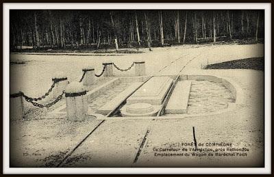 vagon armisticio vagon 2419D rendición alemana vagón mariscal foch