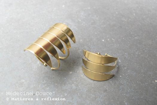 Bijoux Médecine Douce bijoux doré Javelot