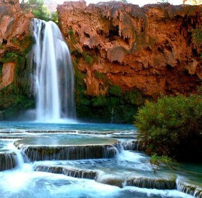 waterfall havasu
