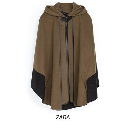 Queen Maxima - ZARA Combination Cape