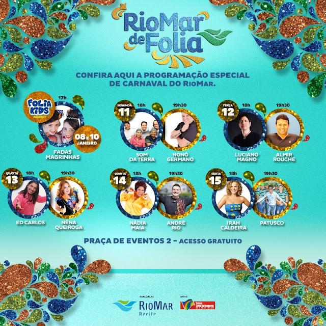 Programação das prévias e Carnaval para criança em Recife e Olinda