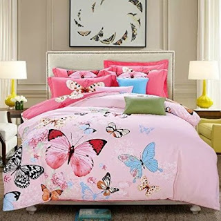 Bedroom decor ideas and designs top butterfly themed for Butterfly themed bedroom ideas