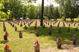 Confederate Memorial Day at Pewee Valley Cemetery