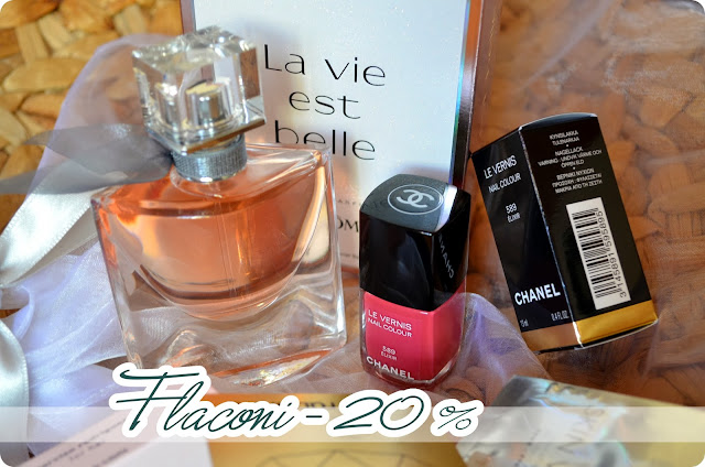 Haul Glamour Shopping Week Herbst 2013 FLACONI