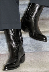 Cowboy Boots With A Suit Bhd S Musings