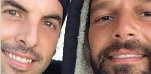 El cantante Ricky Martin volvió a verse en público con su ex-novio, el también boricua Carlos González.