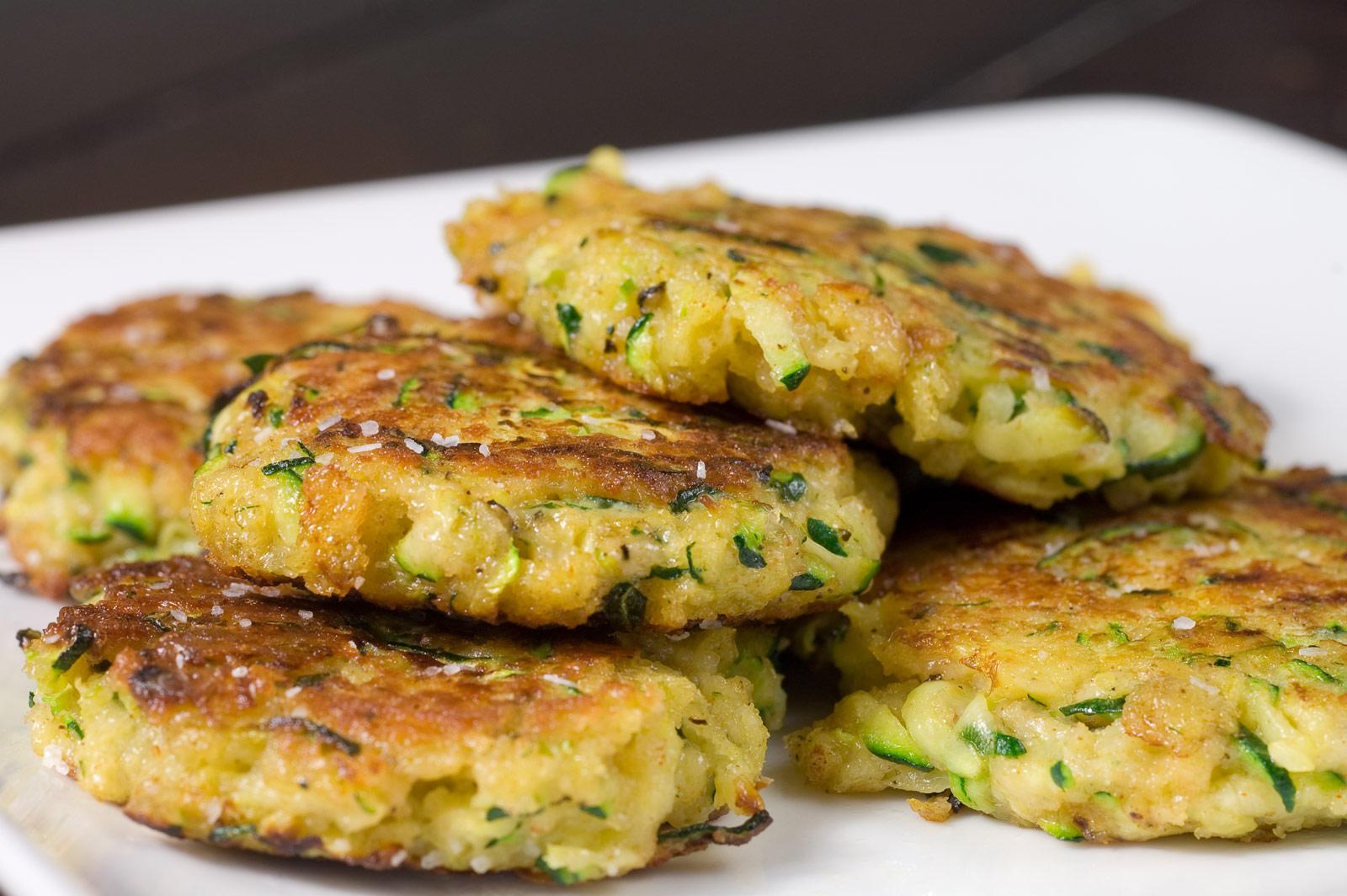 Bites: Zucchini 'Crab' Cakes