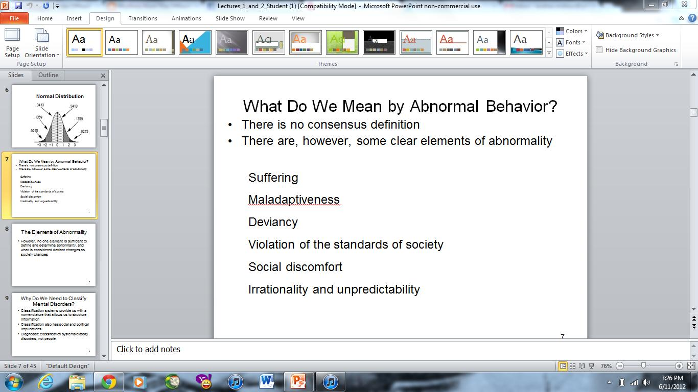 abnormal behavior Note: citations are based on reference standards however, formatting rules can vary widely between applications and fields of interest or study the specific requirements or preferences of your reviewing publisher, classroom teacher, institution or organization should be applied.