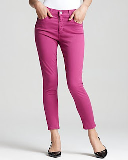 designer colored jeans