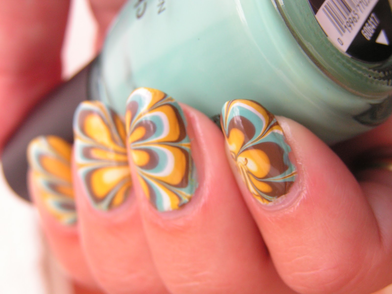 Talon Ted But Tawdry Funky Water Marble