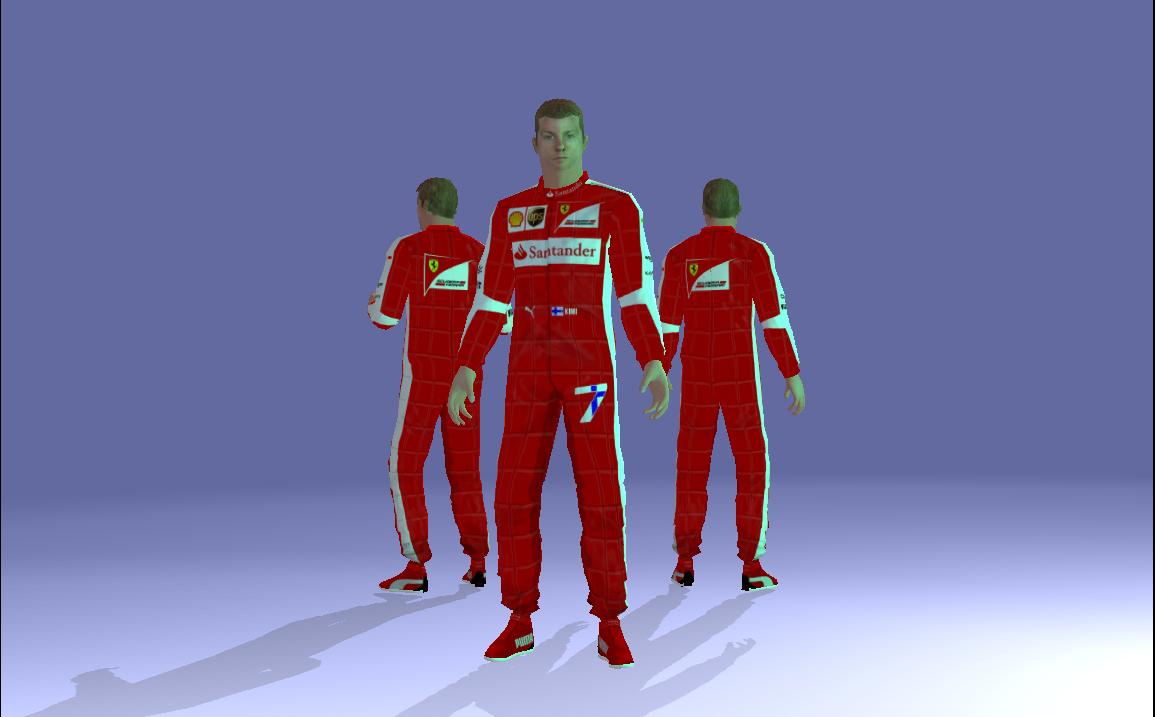Kimi Räikkönen Unity showcase